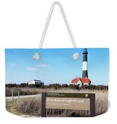 Fire Island Lighthouse Weekender Tote Bag