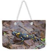 Fire Salamander Weekender Tote Bag