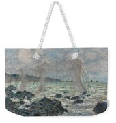 Fishing Nets At Pourville Weekender Tote Bag
