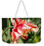 Flaming Parrot Tulip Weekender Tote Bag