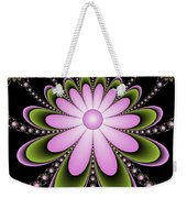Fractal Floral Decorations Weekender Tote Bag