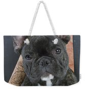 French Bulldog Puppy Weekender Tote Bag