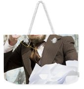 Frustrated Businessman Weekender Tote Bag