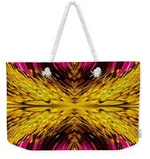 Fuchsia Sensation Abstract Weekender Tote Bag