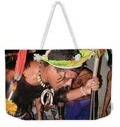 Fulnio Indians Of Brazil  Weekender Tote Bag
