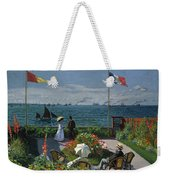 Garden At Sainte-adresse Weekender Tote Bag