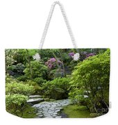 Garden Path Weekender Tote Bag by Brian Jannsen