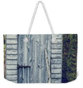 Garden Shed Weekender Tote Bag by Amanda Elwell