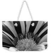 Gazania Named Big Kiss White Flame Weekender Tote Bag