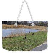 3 Geese Weekender Tote Bag