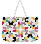 Geometric  Weekender Tote Bag by Mark Ashkenazi