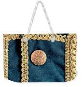 Golden Buttons Weekender Tote Bag