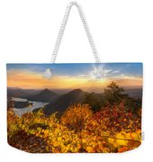 Golden Hour Weekender Tote Bag by Debra and Dave Vanderlaan