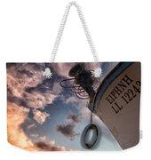 Greek Fishing Boat Weekender Tote Bag