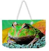 Green Fantasy Frogpacman Frog Weekender Tote Bag