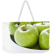 Green Granny Smith Apples Weekender Tote Bag