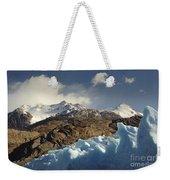 Grey Glacier In Chilean National Park Weekender Tote Bag
