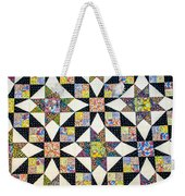 Hand Made Quilt Weekender Tote Bag