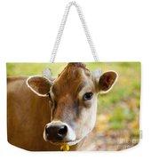 Happy Cow Weekender Tote Bag