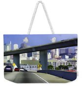 Heading Into The Busy Part Of San Francisco Weekender Tote Bag