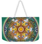 Heaven And Earth Mandala Weekender Tote Bag