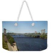 Hennepin Bridge Weekender Tote Bag
