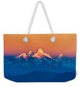 Himalayan Mountains View From Mt. Shivapuri Weekender Tote Bag