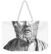 Hippocrates (c460-c377 B.c.) Weekender Tote Bag