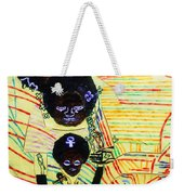 Holy Family Weekender Tote Bag by Gloria Ssali