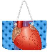 Human Heart Weekender Tote Bag