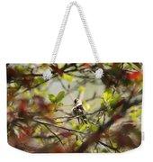 Hummingbird In Spring Weekender Tote Bag