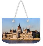 Hungarian Parliament Building In Budapest Weekender Tote Bag