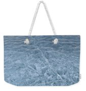 Ice On Abraham Lake Weekender Tote Bag