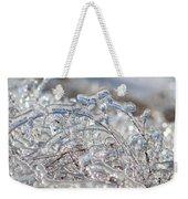 Ice Storm Alfalfa Weekender Tote Bag