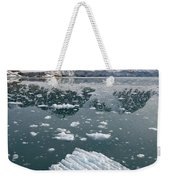 Icebergs Near The Monaco Glacier Weekender Tote Bag