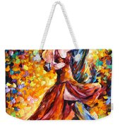 In The Rhythm Of Tango Weekender Tote Bag