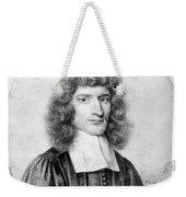 Isaac Barrow (1630-1677) Weekender Tote Bag