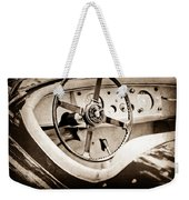 Jaguar Steering Wheel Weekender Tote Bag