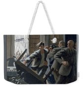 3. Jesus Drives Out The Money Changers / From The Passion Of Christ - A Gay Vision Weekender Tote Bag