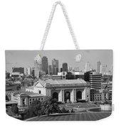 Kansas City Skyline Weekender Tote Bag