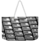 Keyboard Weekender Tote Bag