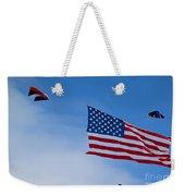 Kites On Ice Weekender Tote Bag