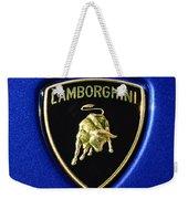 Lamborghini Emblem Weekender Tote Bag