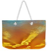 3 Layer Sunset Weekender Tote Bag
