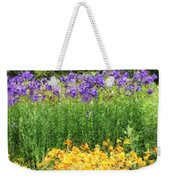 3-layered Garden Weekender Tote Bag