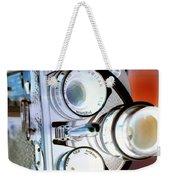 3 Lenses In Negative Weekender Tote Bag