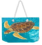 Loggerhead Sea Turtle Weekender Tote Bag