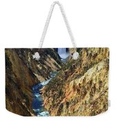 Lower Yellowstone Falls Weekender Tote Bag