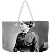 Lucy Hayes (1831-1889) Weekender Tote Bag