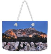 Lycabettus Hill During Dusk Time Weekender Tote Bag